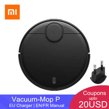 Xiaomi Mijia Sweeping Mopping Robot Vacuum Cleaner STYJ02YM 360 Degrees Laser Scanning  LDS Radar Ranging APP Control for Home