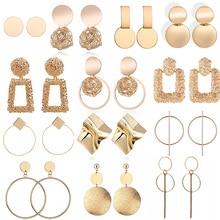 цена на Earrings Mixed Styles Rhinestone Sun Flower Geometric Animal Plastic Stud Earrings Set For Women Girls Jewelry