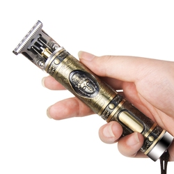 Alloy personalizuj fryzjer maszynka do włosów profesjonalny fryzjer męski trymer do włosów akumulatorowa maszyna do cięcia