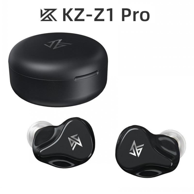 Kz z1 pro bluetooth 5.2 gaming fones de ouvido sem fio esportes fones alta fidelidade baixo tws com cancelamento ruído microfone