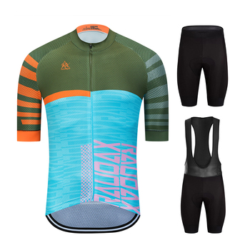 Cycling Jersey Set 2020 Raphaing Men #8217 s Cycling Clothing MTB Bicycle Clothing Bike Wear Clothes Maillot Ropa Ciclismo Triathlon tanie i dobre opinie RAUDAX 100 poliester Lycra polyester Krótki rękaw Factory direct sales 80 poliester i 20 lycra Gobike cycling Żel oddychające pad