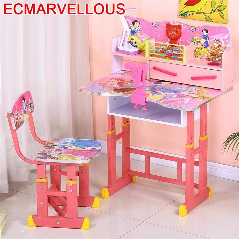 Toddler Escritorio Infantil Desk Tavolino Bambini And Chair Kindertisch Adjustable Bureau Enfant Kinder For Kids Study Table