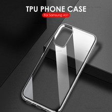 Funda de silicona ultrafina TPU transparente para Samsung Galaxy A51, funda parágrafo telefono Samsung Galaxy A51 A71 UM 51 A71 2019