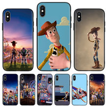 Funda trasera negra de juguete para teléfono Apple IPhone 11 Pro XS MAX XR 7 8 6 6S X 10 diez 5 5S SE Coque Shell(China)