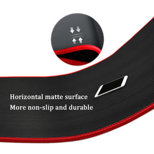 Image 2 - Jusenda esterilla de Yoga NBR, 10MM, 183x61cm, almohadillas deportivas para Pilates, borde para alfombras, resistente a las roturas, mate con bolsa y correa