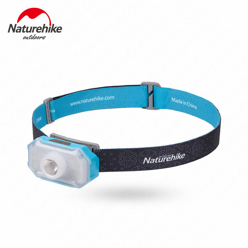 Naturehike Super Bright Rechargeable Headlight Camping Night Fishing Light With Stand NH18T001-A