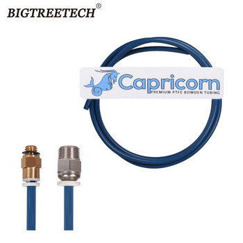 Capricorn Bowden PTFE Tubing XS Series 1M/2M Quick Fitting Straight Pneumatic Blue 1.75mm Filament for Ender 3 3d Printer Parts