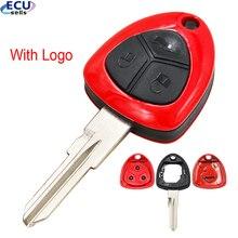 حافظة مفتاح تحكم عن بعد مع شعار لسيارة فيراري 458 612 599 3 BTN غير مصقولة GT15R