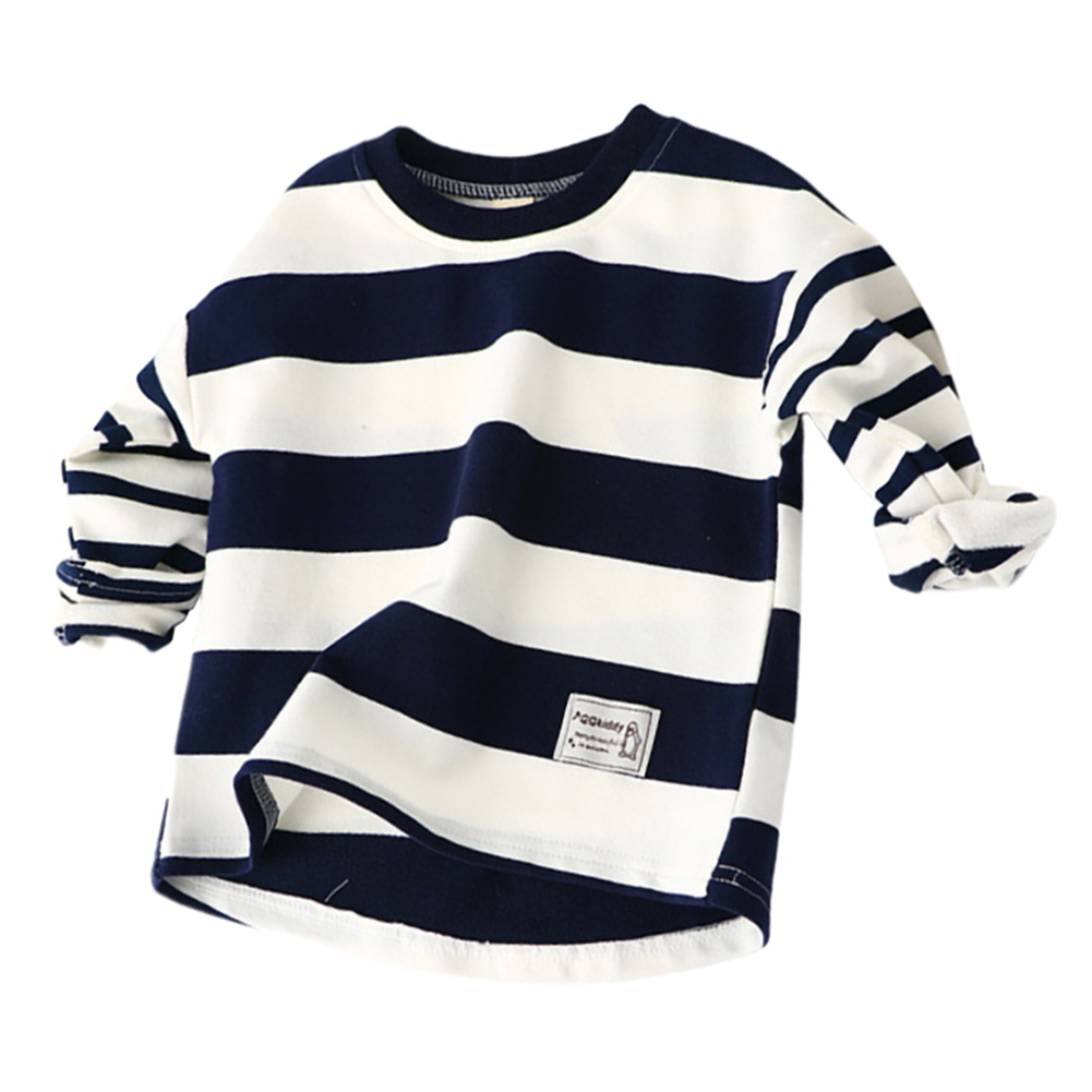 Baby Boys Clothes   Blouses   Autumn Long Sleeve Cotton Causal Active   Shirt   Stripe Toddler Sweatshirt For Kid Hoodies Top Tee   Shirts