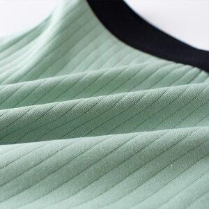 Image 5 - יוקרה זכר תחתוני רחב החגורה מתאגרף טבע כותנה גברים תחתונים בתוספת גודל בוקסר Cueca Homme 4 יח\חבילה