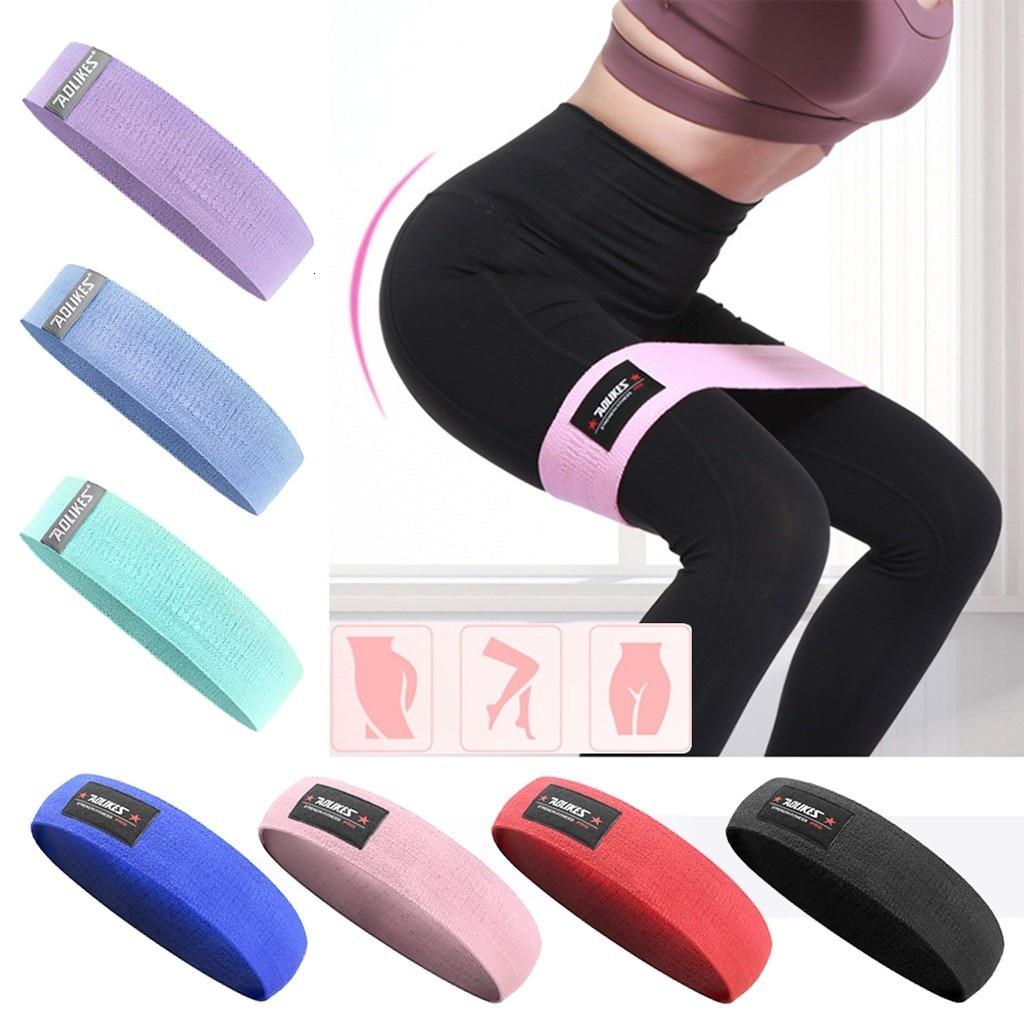 Muscle Pilates Yoga Strength Belt Elastic Hip Ring Fitness Field Strength Belt Ring Yoga Strength Belt