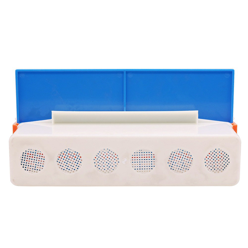 1 Set Bee Tool European Beekeeping Tools European Plastic Powder Box Pollen Collector 350 *175*68mm Carton Independent Packaging