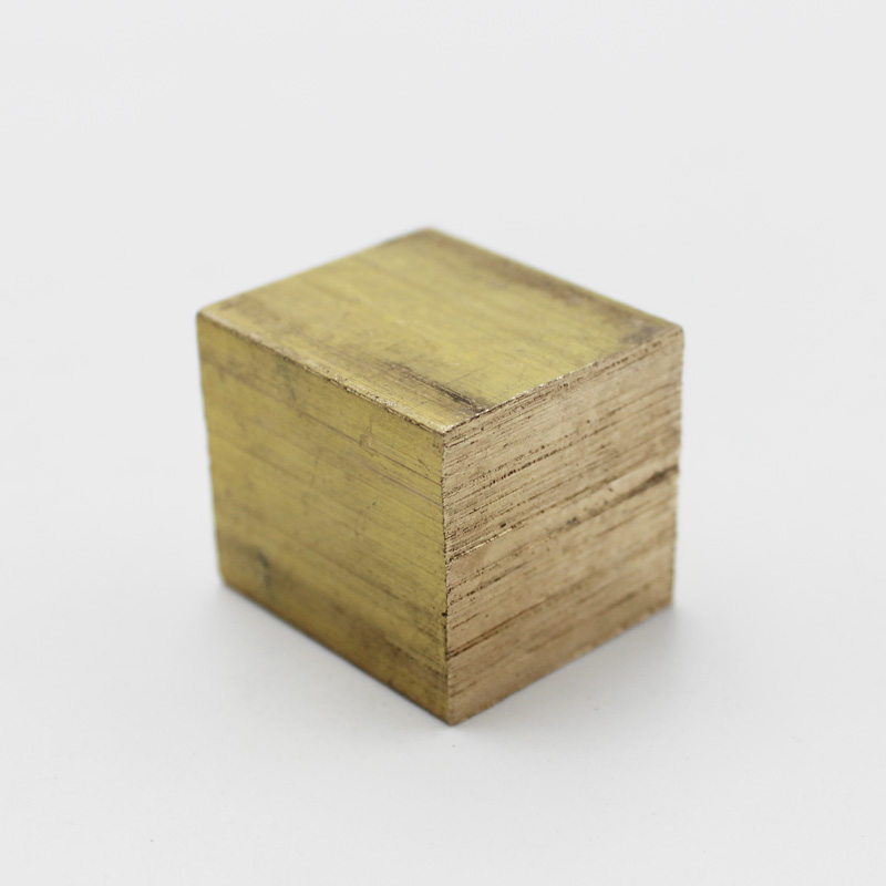 Square Brass Block