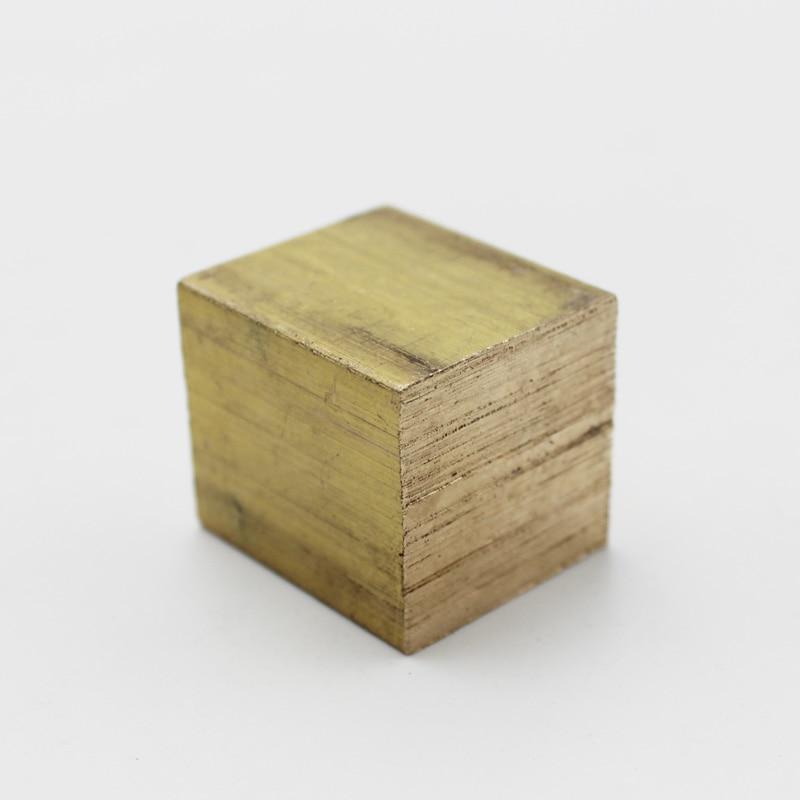 Square Brass Block