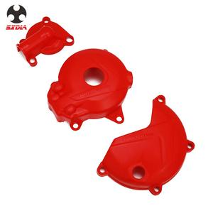 Motorcycle Magneto Engine Clutch Water Pump Cover Protect Protective For ZONGSHEN NC250 250 KAYO T6 K6 BSE J5 RX3 ZS250GY-3(China)