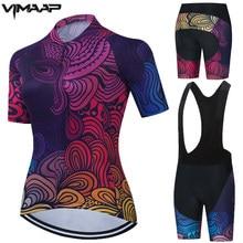 2021 nuove donne maglia da ciclismo Set uniformi da bici abbigliamento da ciclismo estivo abbigliamento da bici abbigliamento da ciclismo da donna camicie da bici MTB