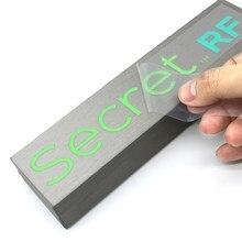 Personalize etiquetas uv da caixa das etiquetas da transferência o logotipo feito sob encomenda alto adesivo impermeável MX-SP etiquetas