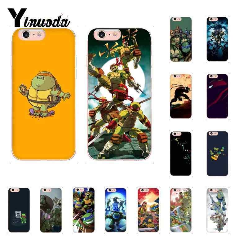 Yinuoda милый мультфильм ниндзя черепаха Супер герой DIY милый чехол для телефона iPhone 8 7 6 6S Plus X XS MAX 5 5S SE XR 11 11pro 11promax