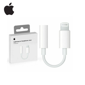 Adaptador AUX para iPhone 7 8X11 pro max con conector Lightning para auriculares de Apple auténtico
