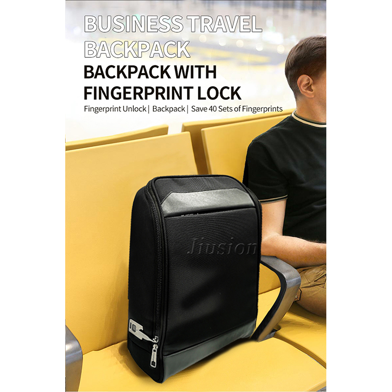Smart Backpack Fingerprint Lock Anti-Theft Bag Luggage Keyless Door Locks USB Rechargeable Security Electronic Biometric Sensor