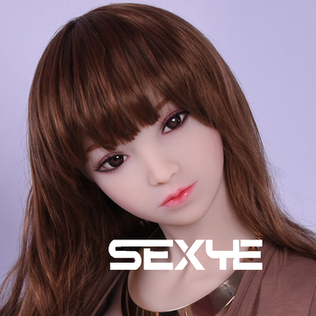 SEXYE Real Silicone Love Dolls Head Lifelike Sex Dolls Head with Oral Experience Anime Adult Toy for Man