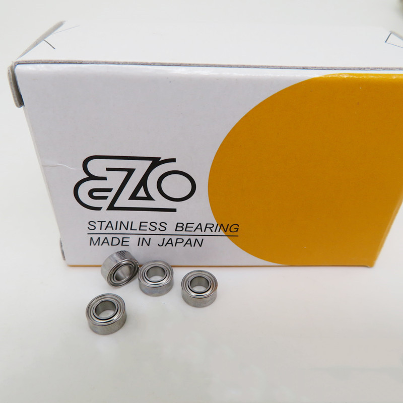 10pcs Original JAPAN EZO Stainless Steel Bearing SMR74ZZ 4*7*2.5 Mm S674ZZ DDL-740ZZ High Precision Miniature Ball Bearings