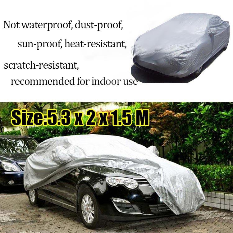 Full Car Cover Waterproof Heat Sun UV Snow Dust Rain Resistant Protection Size XXL