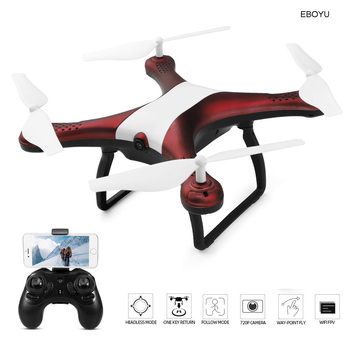 WLtoys XK Q838-E RC Drone with 720P HD Camera WiFi FPV Drone+Follow Me+Headless Mode+Altitude Hold RC Quadcopter for Beginner