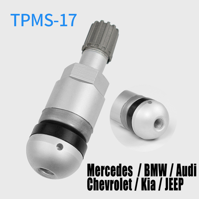 TPMS-17 Tire Valve For Audi Volkswagen Mercedes benz Aluminum TPMS Tire pressure sensor Valves Replacement M5