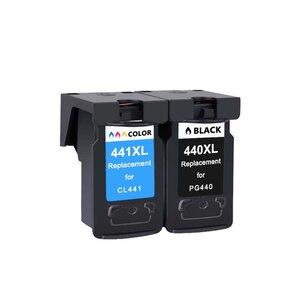 Image 3 - PG440 CL441 Cartridge Vervanging Voor Canon Pg 440 Cl 441 440XL Inkt Cartridge Voor Pixma MG4280 MG4240 MX438 MX518 MX378 printer