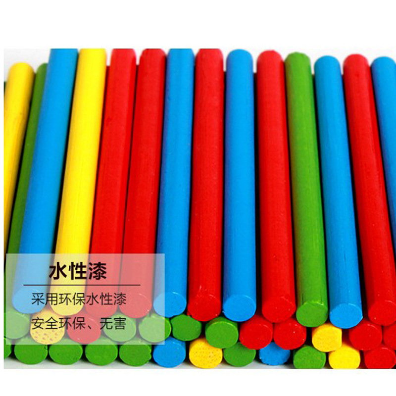 First Grade Kindergarten Xue Xi Bang Arithmetic Rods Arithmetic Small Sticks Counter Primary School Mathematics Children Countin