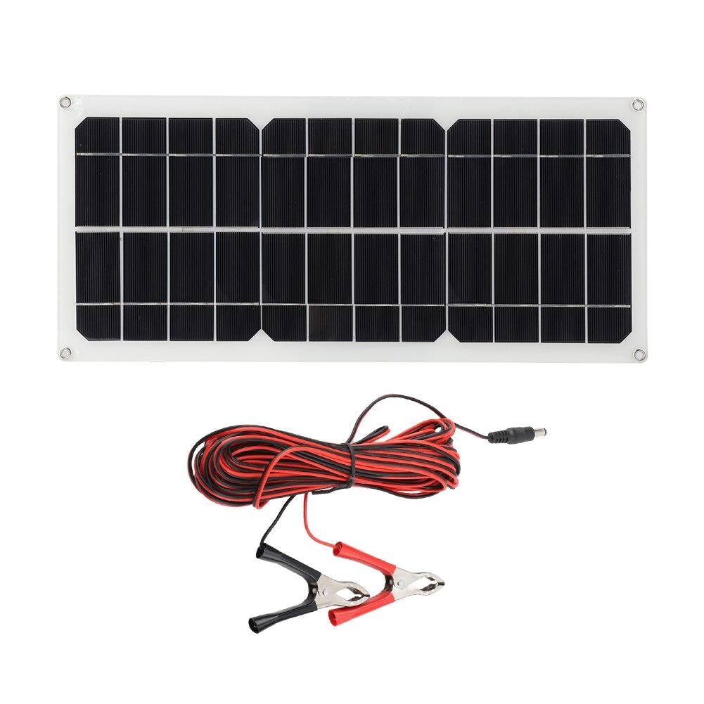 14v 10w painel solar kit semi flexivel polysilicon celula solar modulo diy para 14v carro ao