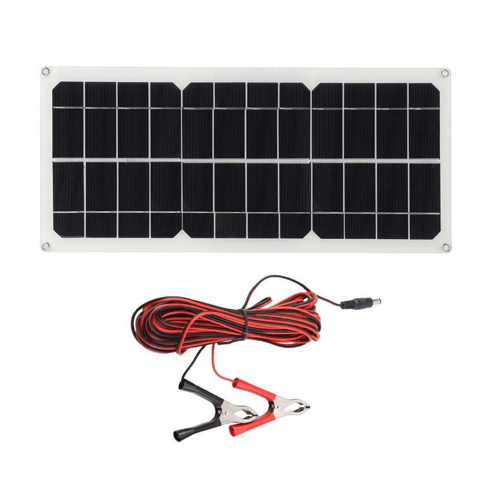 célula solar módulo diy para 14v carro