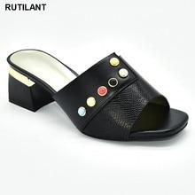 Women Sandals Wedding-Shoes High-Heels Pumps-Shoe Elegant Large-Size Nigerian Latest