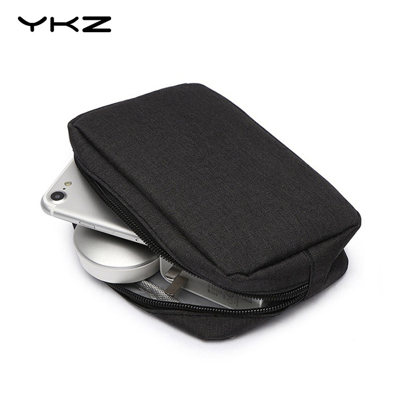 YKZ Power Bank Protect Case Oxford Cloth Bag External Hard Drive Disk PowerBank Cover HDD Case Cover For IPhone Xiaomi Powerbank