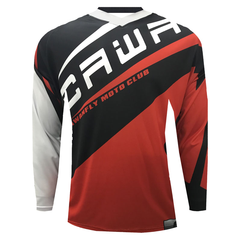 REPT New Cycling Jerseys Motocross 3/4 Sleeve Shirt Ciclismo Clothing Downhill Jerseys Mountain Bike MTB DH Motorcycle Tops Cycling Jerseys     - title=