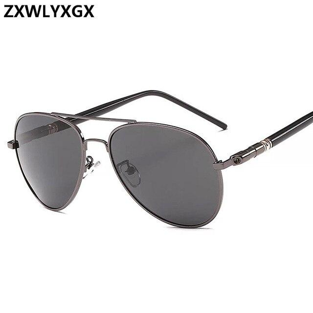 Clásico gafas de sol polarizadas conducción de los hombres gafas negro gafas de sol de aviador de marca de diseñador para hombre gafas de sol Retro Para hombres/mujeres 3