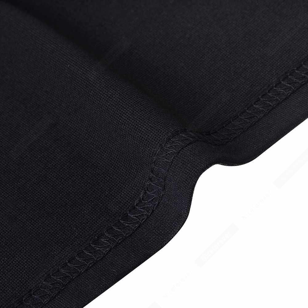 V образным вырезом Короткое лоскутное классическое черное платье винтажное боковое сексуальное офисное женское платье HB563