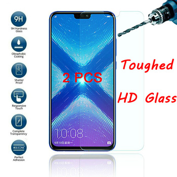 2PCS HD Phone Protective Glass For Honor 8A 6A Pro 5A EU Clear Tempered Glass For Huawei Honor 7A AUM L29 4A Screen Protector