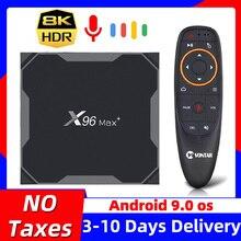 2020 TV Box Android 9.0 X96 Max plus TVBox Amlogic S905X3 X96Max Android Box 8K 2.4G&5G Wifi 4GB 64G 32GB Smart 4K Media Player