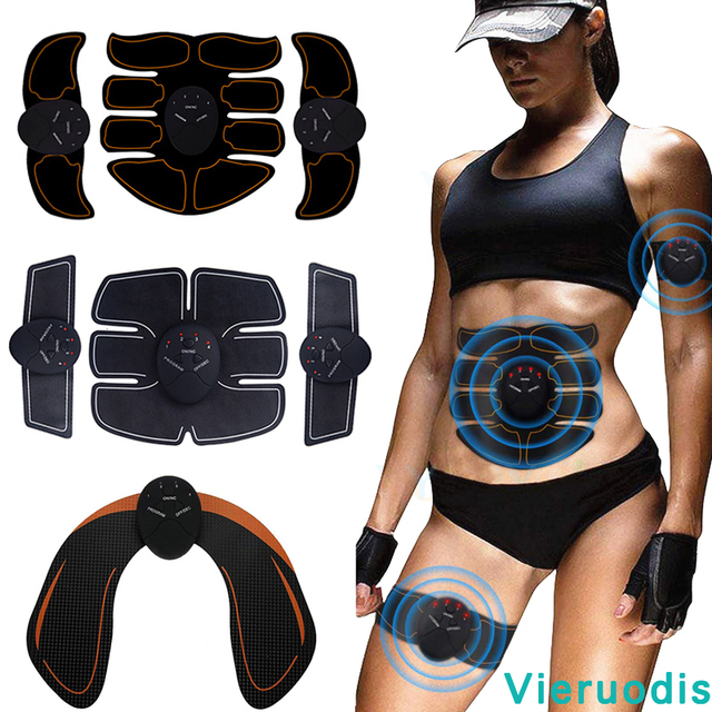 EMS Butt Trainer Muscle Stimulator ABS Fitness Buttocks Abdominal Trainer Toner Slimming Massager Neutral 1