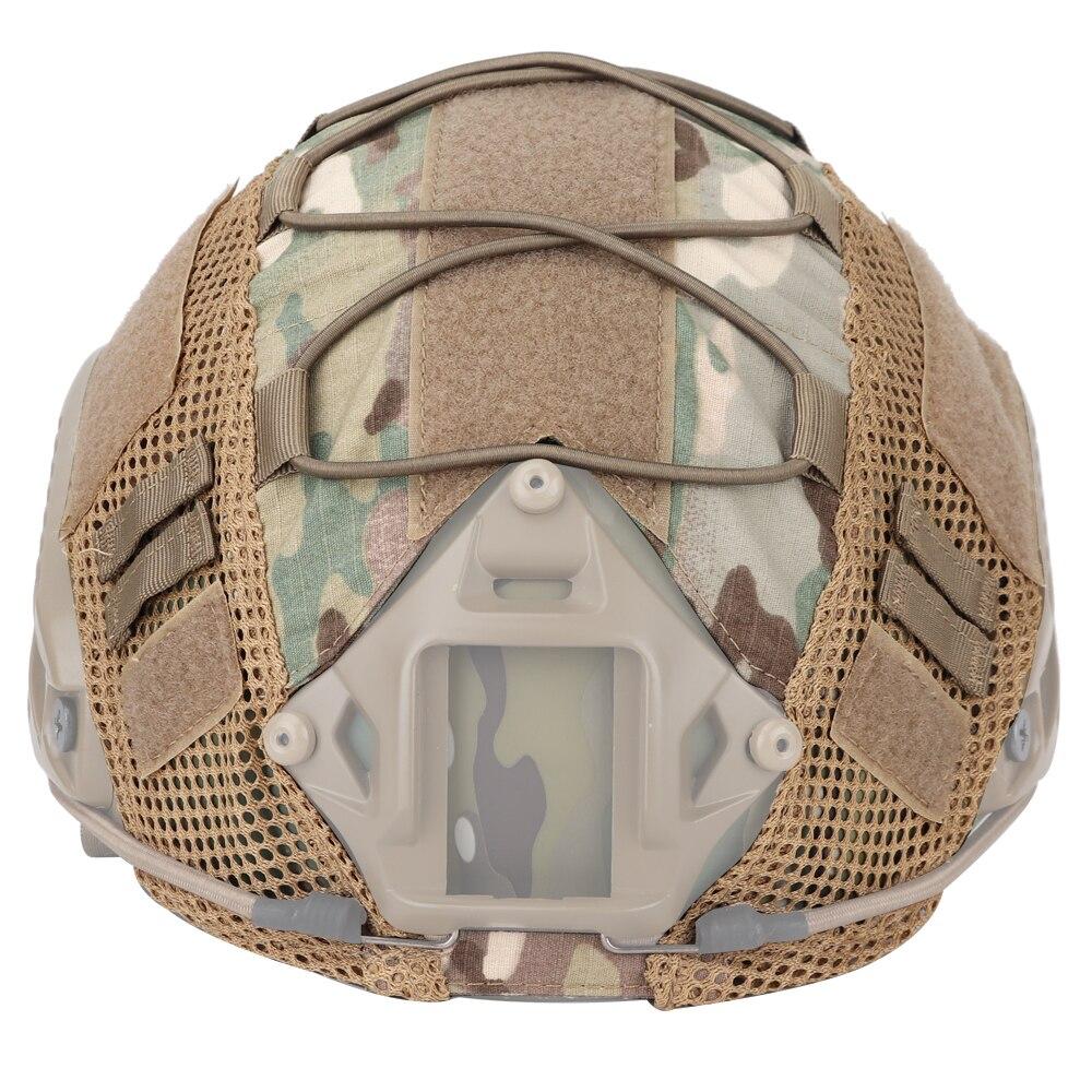 Тактический шлем Мультикам чехол для быстрого страйкбола шлемы Пейнтбол Wargame gear Баллистические шлемы Крышка 11 цветов