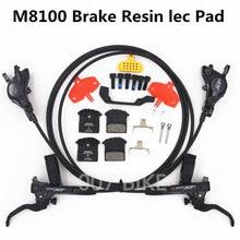 SHIMANO DEORE XT M8000 M8100 Bremse Mountainbike XT Hydraulische Disc Bremse MTB ICE TECH Links & Rechts 800/900 /1500/1600mm