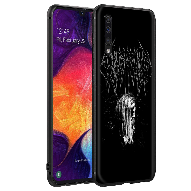Webbedepp rtęci wstecz Ghostemane etui do Samsung Galaxy S7 S8 S9 S10 Plus krawędzi uwaga 10 8 9 A10 A20 A30 A40 A50 A60 A70