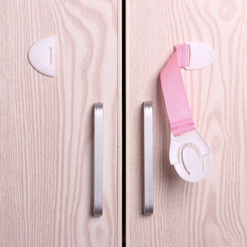 10 шт./лот защита от детей блокировка дверей для безопасности детей детский пластиковый замок Лучшие продажи