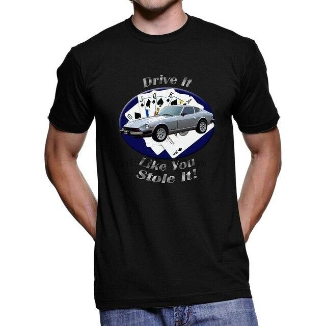 Camiseta escuro de datsun 280z drive it masculino