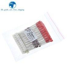 TZT – kit de diodes Zener DO-41, 140 pièces, 14 valeurs x 10 pièces = 140 pièces, 1W, 3.3V-30V