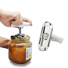 Stainless Steel Jar Opener For Multi Sie Multifunctional Bottle Can Cap Canned Europea Glass Pot Kitchen Gadgets