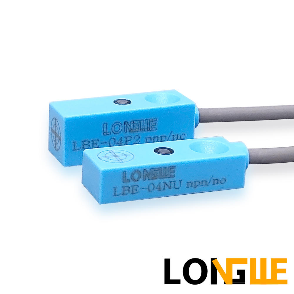LONGWE IP68 4mm Small ABS Cube Shell Non-flush Inductive Proximity Sensor LBE-04