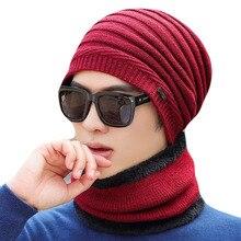 High Quality Knitted Scarf Hat Winter Beanies Caps Mask Gorras Bonnet Warm Winter Beanie Hats For Men Women Skullies Beanies
